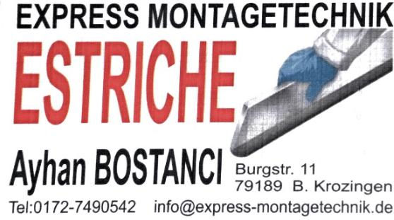 Express Montagetechnik Estriche