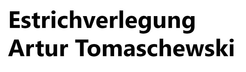 Estrichverlegung Artur Tomaschewski